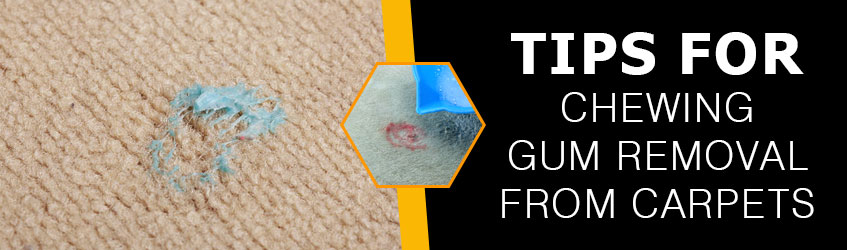 Tips for Chewing Gum Removal from Carpets