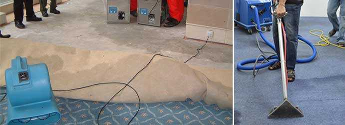 Carpet Flood Recovery Bunding