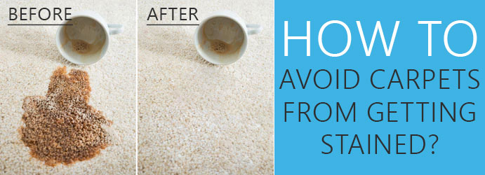 How to Avoid Carpets from Getting Stained?