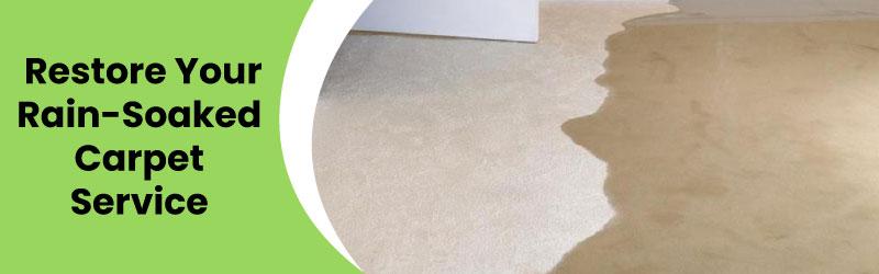 Restore Your Rain Soaked Carpet Service