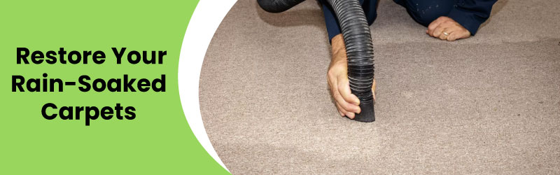Restore Your Rain Soaked Carpets