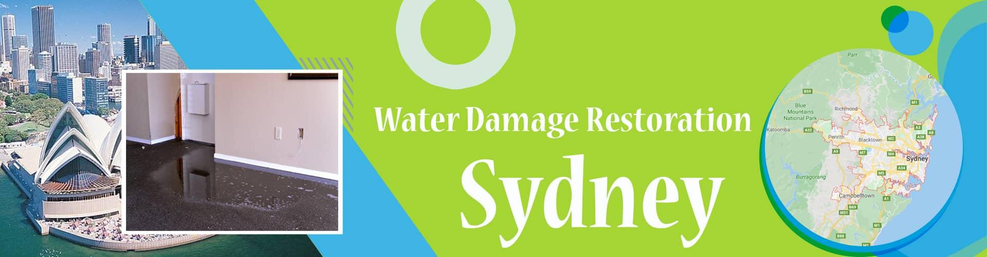 Water Damage Restoration Sydney